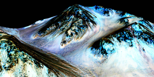 Finding Water on Mars—From Movie to Space Science