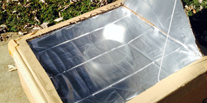 Heat up Your Summer with Solar Science / solar oven project from a box