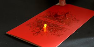 Paper Circuits Bring Light to Seasonal Greetings / Hands-on STEM