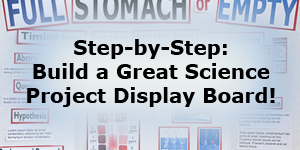 Smart Science Project Display Boards / A step-by-step guide