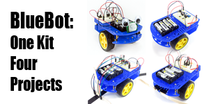 Four Fun Builds in One BlueBot Robotics Kit!