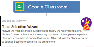 Your Digital Classroom: The Topic Selection Wizard