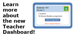 Science Buddies Teacher Dashboard