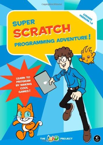 Super Scratch adventure / Book cover