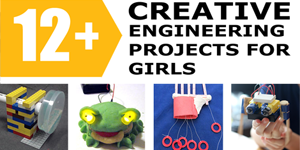 Eweek / Girl Day / Engineering Projects to Celebrate Girls