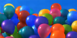 Up Movie Balloons / Popular Culture and Science