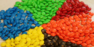Valentine's Day STEM Activity / Candy Math: M&M Color Statistics