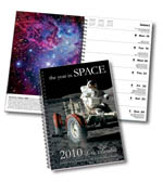 Year in Space calendar photo