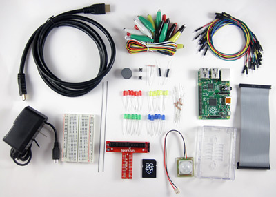 Raspberry Pi Kit contents