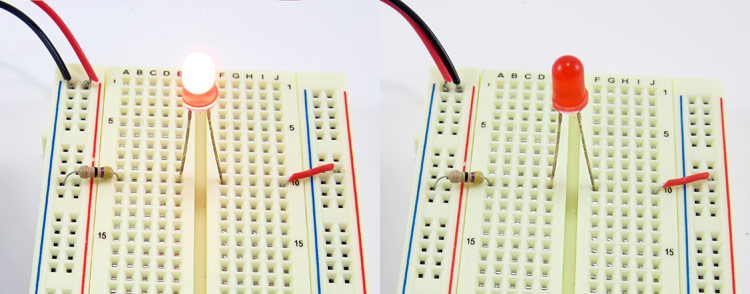 breadboard wrong bus 5